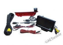 VW Transporter T5 T6 High Level Brake Light Reversing Camera + 4.3 Inch Monitor